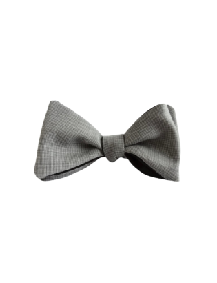 Luxury Merino Wool Bow Tie,...