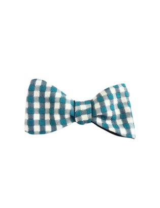 Checked Luxury Cotton Bow...