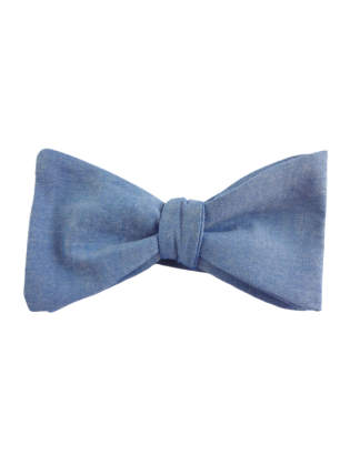 Bowray Cotton Bow Tie Blue