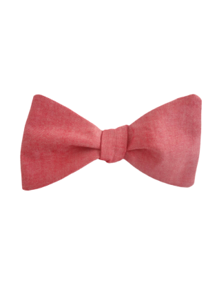 Bowray Cotton Bow Tie Red