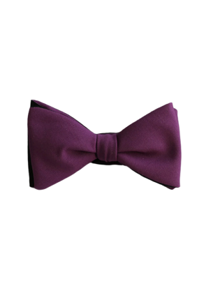 Luxury Wool Bow Tie, Black...
